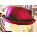 【IMPORT HAT】DIAMOND CHECK HAT ウールハット