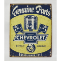 【再入荷!!】【IMPORT GOODS】CHEVROLET PLATE 看板,プレート