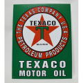 【IMPORT GOODS】TEXACO PLATE 看板,プレート