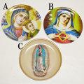 【IMPORT GOODS】JESUS&MARY MELAMINE PLATE【プラスチック皿】