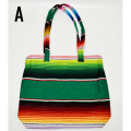 【MEXICO】メキシコ SERAPE BAG W ZIP TOP(A) バッグ