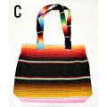 【MEXICO】メキシコ SERAPE BAG W ZIP TOP(C) バッグ