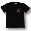 3COLORS【OG CLASSIX/オージークラシックス】【CALRIDE/キャルライド】CAL POCKET BOWTIE TEE【Tシャツ】【5.6oz】【ポケット】