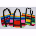 【MEXICO】SERAPE COMBINATION SHOPPING BAG【サラペバッグ】