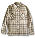 【OG CLASSIX/オージークラシックス】HERRINGBONE PLAID FLANNEL SHIRTS【ネルシャツ】【長袖】【フランネルシャツ】【日本製】【国産】