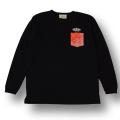 【KIDS】【OG CLASSIX/オージークラシックス】POCKET BANDANA  KIDS LONG SLEEVE【Tシャツ】【長袖】【キッズ】