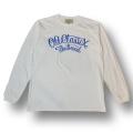 【OG CLASSIX/オージークラシックス】CHECK FLAG COPORATE LONG SLEEVE【Tシャツ】【長袖】【チェッカーフラッグ】