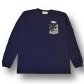 【OG CLASSIX/オージークラシックス】POCKET BANDANA LONG SLEEVE【Tシャツ】【長袖】【バンダナ】【ポケット】