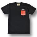 【OG CLASSIX/オージークラシックス】POCKET BANADANA TEE【Tシャツ】【7.1oz】【ペイズリー】【ポケット】【バンダナ】【レッド】【RED】