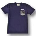 【OG CLASSIX/オージークラシックス】POCKET BANADANA TEE【Tシャツ】【7.1oz】【ペイズリー】【ポケット】【バンダナ】【ネイビー】【NVY】