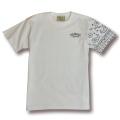 【OG CLASSIX/オージークラシックス】LEFT LINE PAISLEY TEE【Tシャツ】【6.2oz】【ペイズリー】