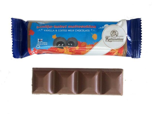 バニラ&コーヒーミルクチョコレートバー