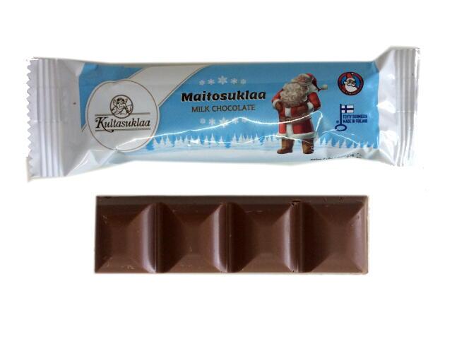 サンタクロース  ミルクチョコレートバー