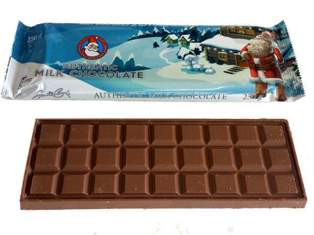 サンタクロースミルクチョコレート(エクストララージ)