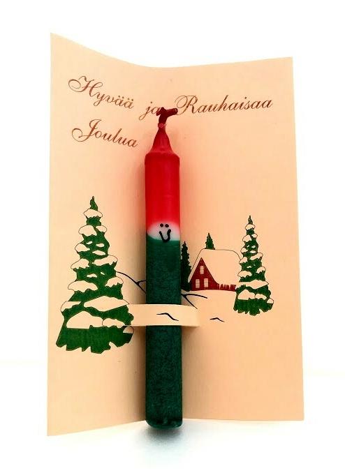 フィンランドの市場で買ってきた「クリスマスキャンドルB」