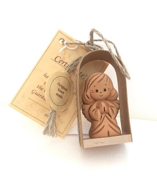 エストニアの市場で買ってきた<ハンドメイドの天使の人形>