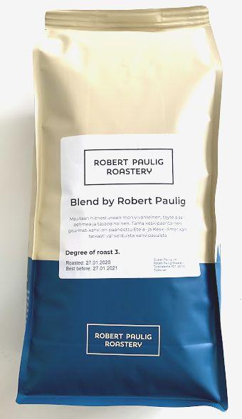 賞味期限2021.01..27の為値下げ販売 ロバートパウリグブレンド(豆)1kg ~ロバートパウリグロースタリー 限定スペシャルブレンド~
