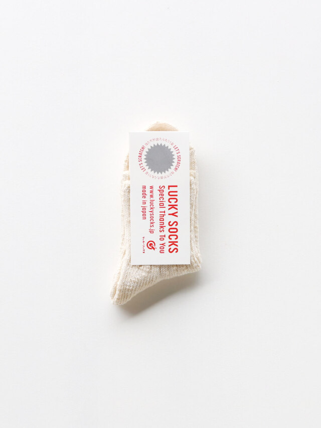 ミックスアンクルソックス / オフホワイト
