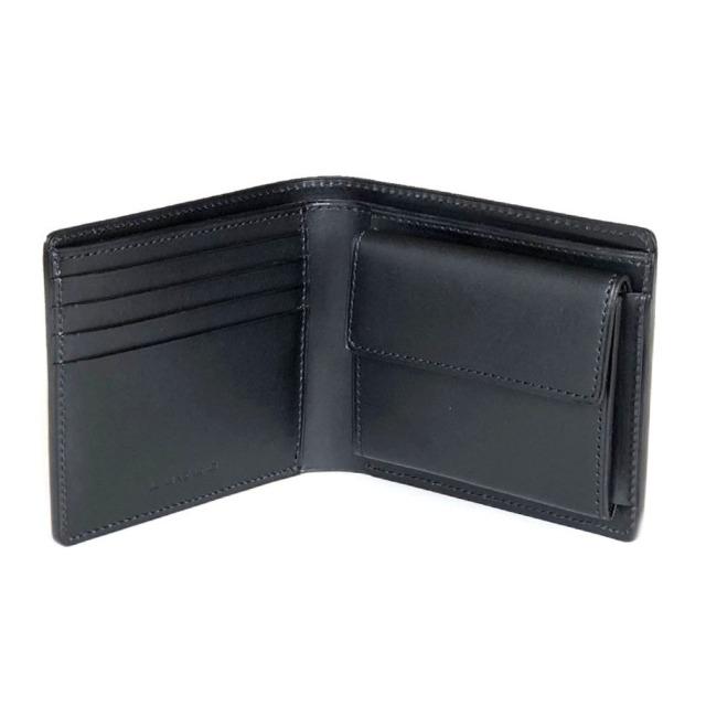 新型コードバン二つ折り財布