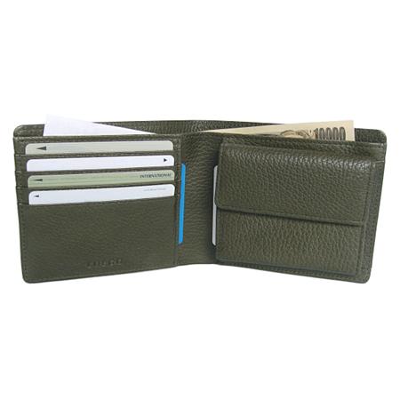 コンビカラーシュリンク 二つ折り財布