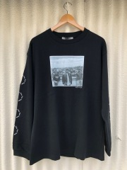 BROW ブロウ L/S TEE メンズフォトプリントロンT BLACK ブラック A TRIBE CALLED QUEST Jamil GS 両袖プリント COTTON 綿