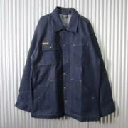 PRISON BLUES プリズンブルース DENIM YARD COAT メンズリジッドブルーデニムカバーオール RIGID BLUE MADE IN USA アメリカ製 #610