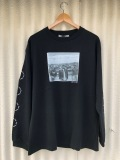 [SALE商品] BROW ブロウ L/S TEE メンズフォトプリントロンT BLACK ブラック A TRIBE CALLED QUEST Jamil GS 両袖プリント COTTON 綿