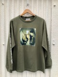 「SALE商品」 BROW ブロウ L/S TEE メンズフォトプリントロンT OLIVE 緑 GETO BOYS 長袖 Jamil GS 両袖プリント COTTON 綿