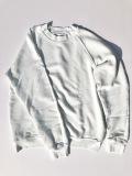 LES TIEN レスティエン CLASSIC RAGLAN ユニセックスクルーネックラグランスウェット COTTON 綿 ICE ホワイトミントブルー MADE IN LOS ANGELS アメリカ製 送料無料