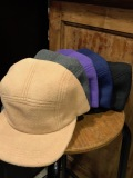 WINNER CAPS ウィナーキャップ FLEECE CAMP CAP メンズフリースジェットキャップ CAMEL CHARCOAL PURPLE NAVY BLACK MADE IN U.S.A. アメリカ製
