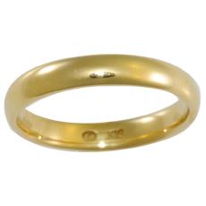 Link Love - ・・・& - K18 3mm甲丸Sリング