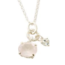 wishing stone pendant - SV ウィッシングストーンペンダント ピンク
