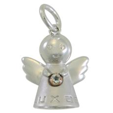 baby's Angel - SV/K18PG - 3月 アクアマリン