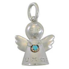 baby's Angel - SV/K18PG - 12月 ターコイズ