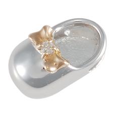 baby's Shoe - SV/K18PG - 4月 ダイヤモンド