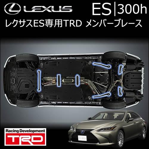 レクサス ES専用 メンバーブレース(TRD)