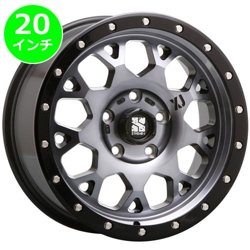 レクサス LX用 ホイール&タイヤセット(エクストリームジェイ XJ04・20インチ)