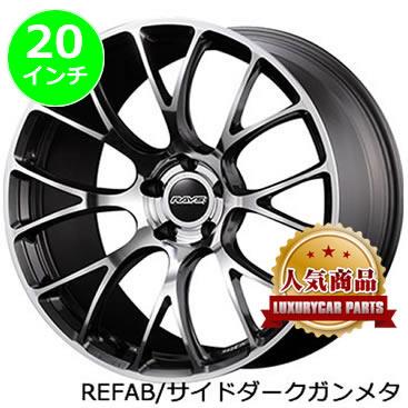 レクサス NX用 ホイール&タイヤセット(ボルクレーシング G16/RM・20インチ)