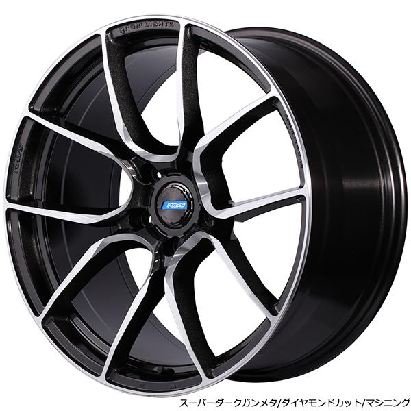 BMW3シリーズ用 ホイール&タイヤセット(グラムライツ アズール  57ANA・20インチ)