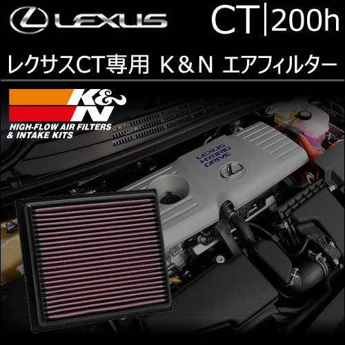 レクサス CT専用 K&N エアフィルター