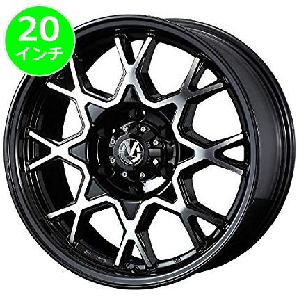 レクサス LX用 ホイール&タイヤセット(マッド ヴァンス02・20インチ)