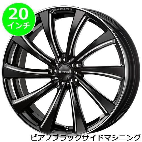 レクサス NX用 ホイール&タイヤセット(ヴェネルディ マデリーナ ジラーレ・20インチ)