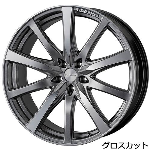 レクサス NX用 ホイール&タイヤセット(ロジャム ヴェクトル・20インチ)