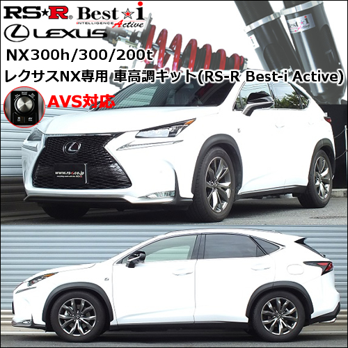 レクサスNX300h/300/200t専用 車高調キット(RS-R Best-i Active)