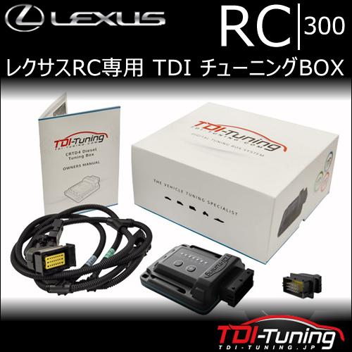 レクサスRC専用 TDI チューニングBOX