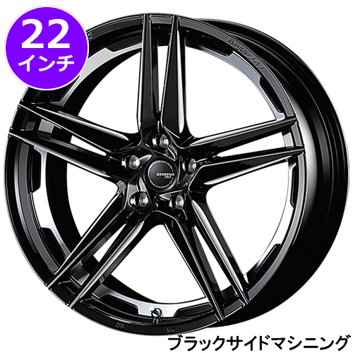 レクサス RX用 ホイール&タイヤセット(エステイタス スタイル-757・22インチ)