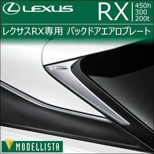 レクサス RX専用 バックドアエアロプレート
