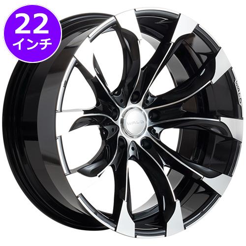 レクサス RX用 ホイール&タイヤセット(WALD ジャレット J11-C・22インチ)