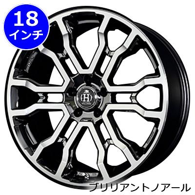 レクサス UX用 ホイール&タイヤセット(クロススリーカーズT6・18インチ)