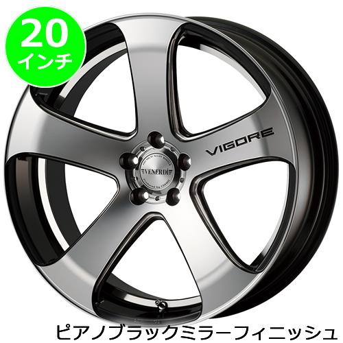 レクサス UX用 ホイール&タイヤセット(ヴェネルディ ヴィゴーレ・20インチ)
